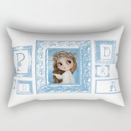 Erregiro Blythe Custom Doll Pandora Rectangular Pillow