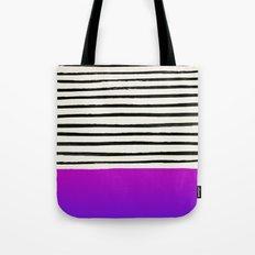 Galaxy x Stripes Tote Bag