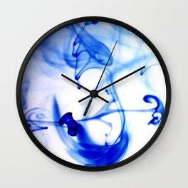 inkwater print 06 Wall Clock