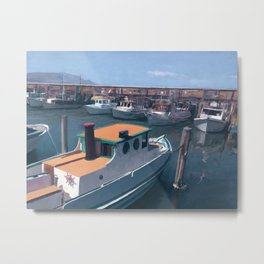 Fisherman's Wharf (SF) Metal Print