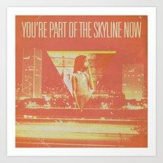 The Spring Standards - Skyline Art Print