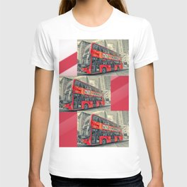 London Mormon Red Bus T-shirt