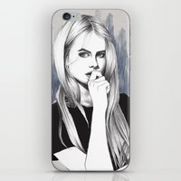 the who iPhone & iPod Skins featuring Who? by Michaela Ramstedt