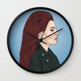 Lana Portrait Wall Clock