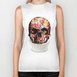 Sweet skull Biker Tank