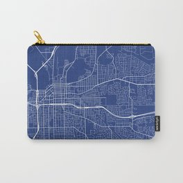 Montgomery Map, USA - Blue Carry-All Pouch