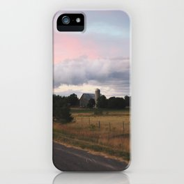 Cotton Candy Sky I, 2017 iPhone Case