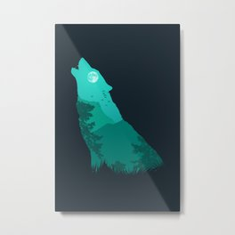 The Sound Of Nature Metal Print