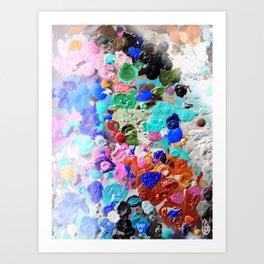 Palette Craze Art Print