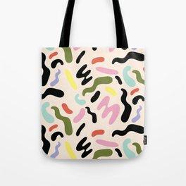 SQUIGGLE BEAN Tote Bag