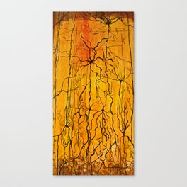 Neural Activity (An Ode to Cajal) Canvas Print