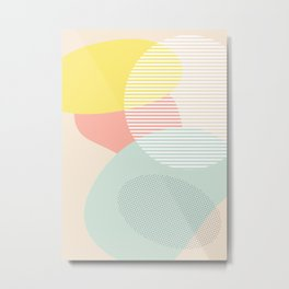 Lost In Shapes III #society6 #abstract Metal Print