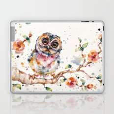 Yep, Cute Is My Middle Name (Owl) Laptop & iPad Skin