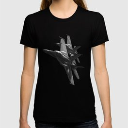 US Military Fighter Attack Jets T-shirt