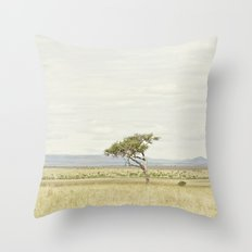 tree of life::kenya Throw Pillow