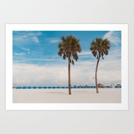 Clearwater Beach in the Morning Art Print