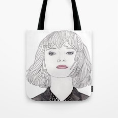 Pastel Girl 2 Tote Bag