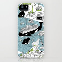 Seattle! iPhone Case