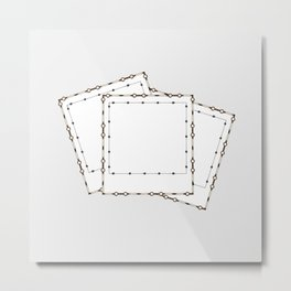 Polaroids Metal Print