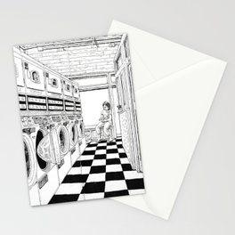 Coffee & Laundry Stationery Cards