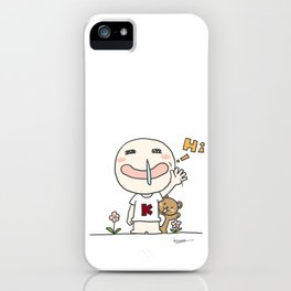 K Young-HI iPhone Case