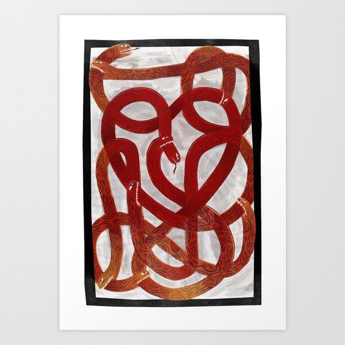 Love for sale Art Print
