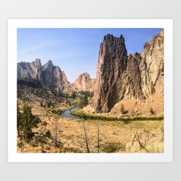Smith Rock State Park Art Print