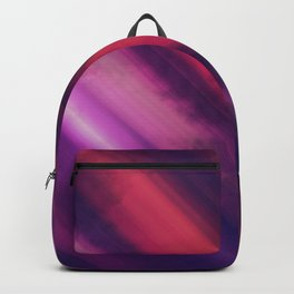 Vibrant Colorful Rays between Clouds 02 Backpack