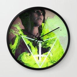 Anamnesis Falls in Love I Wall Clock