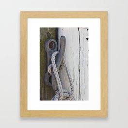 On The Docks Framed Art Print