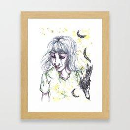 So Naive Framed Art Print