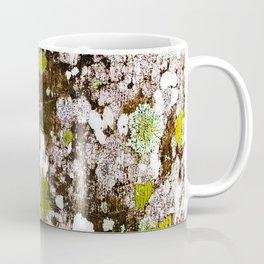 437 - Abstract Lichen Design Coffee Mug