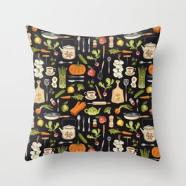 Soul kitchen Throw Pillow