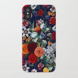 Night Garden XXXV iPhone Case