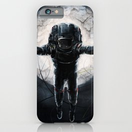 Lunar Figure  iPhone Case