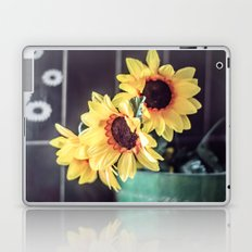 Sunflowers in my kitchen Laptop & iPad Skin