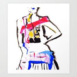 DANCE1 Art Print