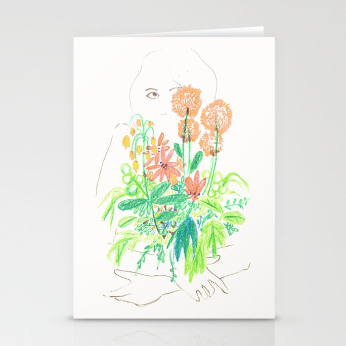Flower flower Stationery Cards