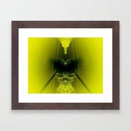 Shock Value Framed Art Print