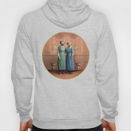 The Sloth Sisters at Home Hoody