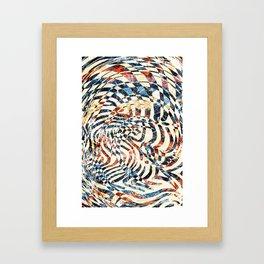 Pattern № 80 Framed Art Print