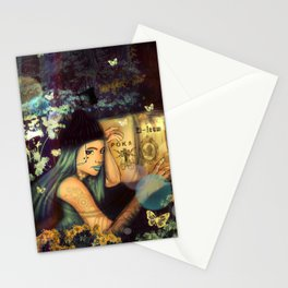 The Gardens (Poka)  Stationery Cards