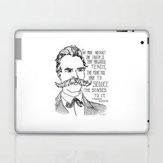 Friedrich Nietzsche Laptop & iPad Skin