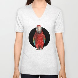Macaw I Unisex V-Neck