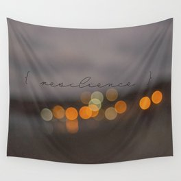 { resilience }  Wall Tapestry