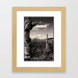 Wild Wild West Framed Art Print