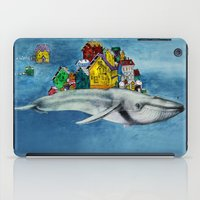 the whale iPad Cases featuring whale by Кaterina Кalinich