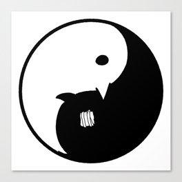 Goodnight / Oyasumi Punpun - Yin Yang Canvas Print