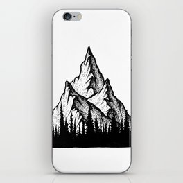 Lonely Mountain iPhone Skin