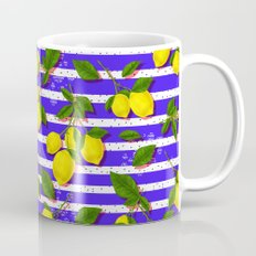 Pattern of lemons II Mug